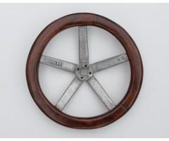 Early British Monoplane Control Wheel Circa 1913