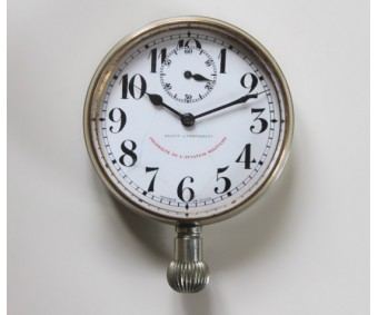 WW1 French Aircraft Cockpit Clock Aviation Militaire