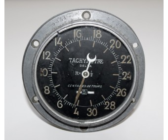WW1 Aircraft AERA Paris Delta Tachometer