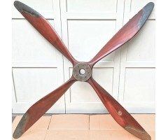 WW1 F.E.8. Four Bladed Aircraft Propeller Circa 1916