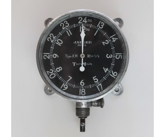 WW1 Jaeger Paris Type AM Aircraft Tachometer