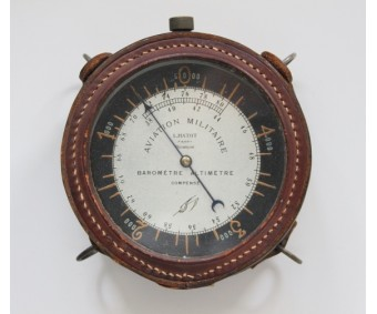 WW1 French Aircraft Altimeter By Léon Hatot