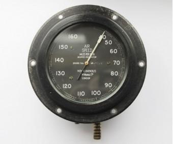 WW1 British Aircraft Airspeed Instrument MK IV.A.