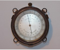 WW1 French Aircraft Altimeter By Naudet & Cie