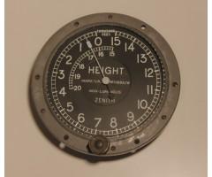 WW1 Mark V.A. Zenith Aircraft Altimeter