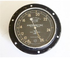 WW1 French Aircraft Airspeed Instrument