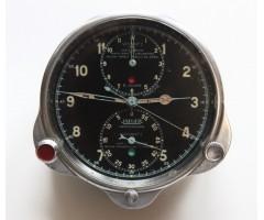 Jaeger Chronoflite Time Of Trip Aircraft Cockpit Clock