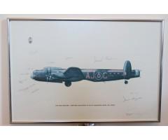 Dambusters 617 Squadron Multi Signature Limited Print