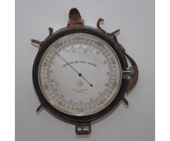 WW1 Italian Aircraft Altimeter By Agolini Parma