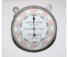 Early Jaeger Paris AM Aircraft Tachometer