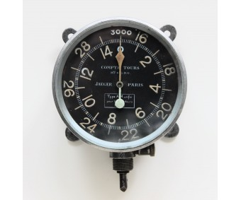 WW1 A.M. Jaeger Paris Aircraft Tachometer