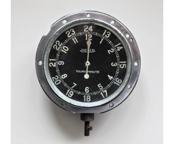 WW1 Jaeger Paris Aircraft Tachometer