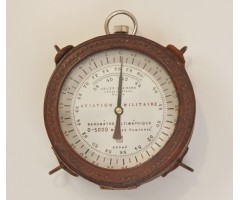 WW1 French Aircraft Altimeter By Jules Richard