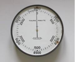 1920's Jaeger Aero Engine Hydroplane Tachometer
