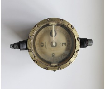 Early WW1 French Aircraft Airship Compass By Lepaute