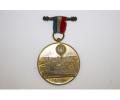 Henry Giffard Ballooning Medal Paris 1878