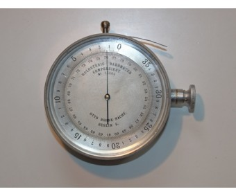 Early WW1 German Aircraft Altimeter By Otto Bohne