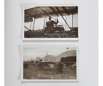 Bournemouth Aviation Meeting Postcards 1910