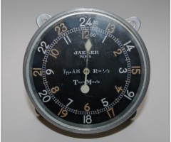 WW1 Jaeger AM Aircraft Tachometer / Rev Counter