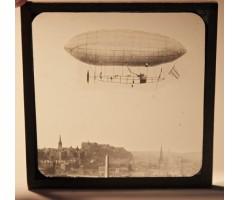 Stanley Spencer's Airship No1 Original Glass Slide
