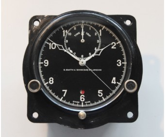 S.Smith & Sons (Jaeger) Time Of Trip Cockpit Clock