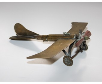 WW1 Trench Art Monoplane Aircraft