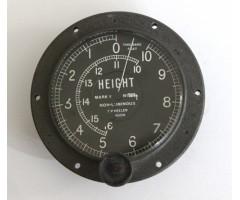 WW1 Period MK V Aircraft Altimeter