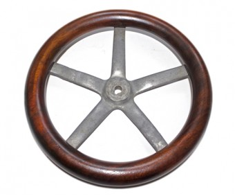 Early Aircraft Control Wheel Circa - 1910