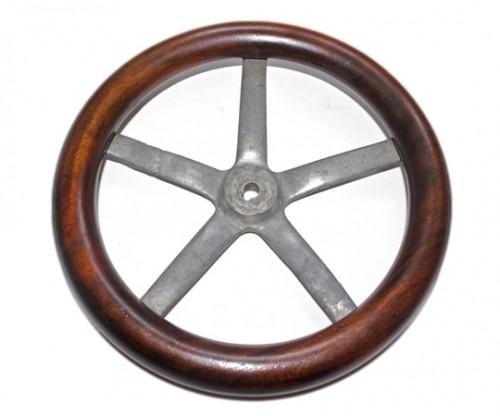 Early Aircraft Control Wheel Circa - 1910